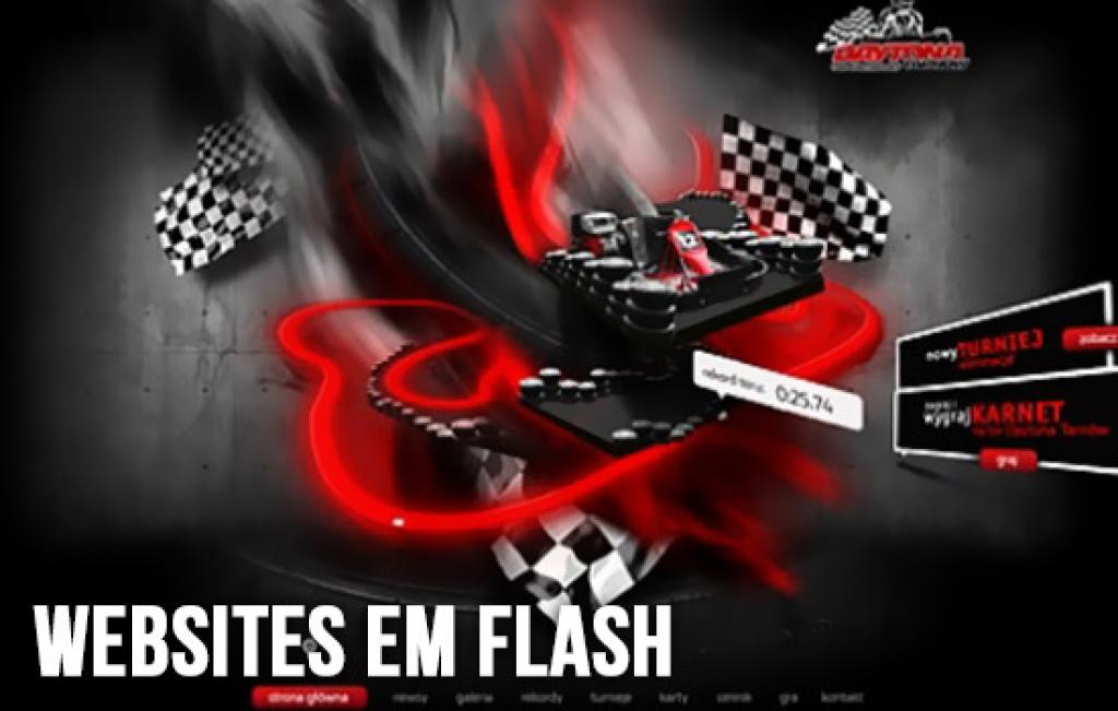 Sites em Flash